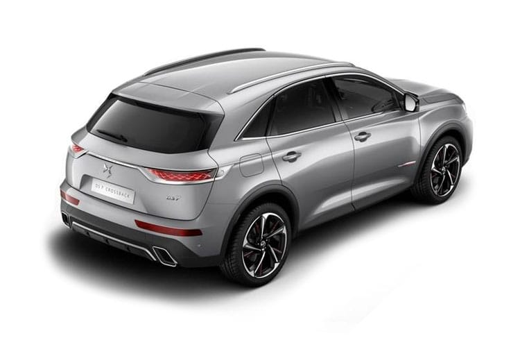 DS Automobiles DS 7 Crossback SUV 5Dr 1.2 PureTech 130PS Performance Line + 5Dr EAT8 [Start Stop] back view