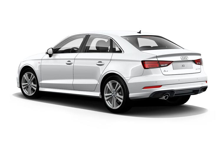 Audi A3 30 Saloon 4Dr 1.0 TFSI 110PS Sport 4Dr Manual [Start Stop] back view