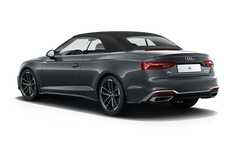 Audi A5 40 Cabriolet 2Dr 2.0 TDI 190PS S line 2Dr S Tronic [Start Stop] [Technology] back view