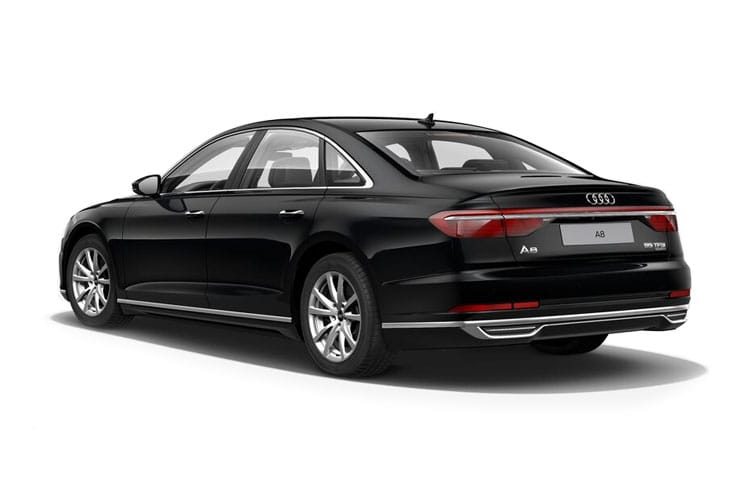 Audi A8 50 Saloon quattro 4Dr 3.0 TDI V6 286PS Black Edition 4Dr Tiptronic [Start Stop] [Comfort Sound] back view