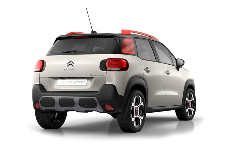 Citroen C3 Aircross SUV 1.2 PureTech 110PS C-Series 5Dr Manual [Start Stop] back view