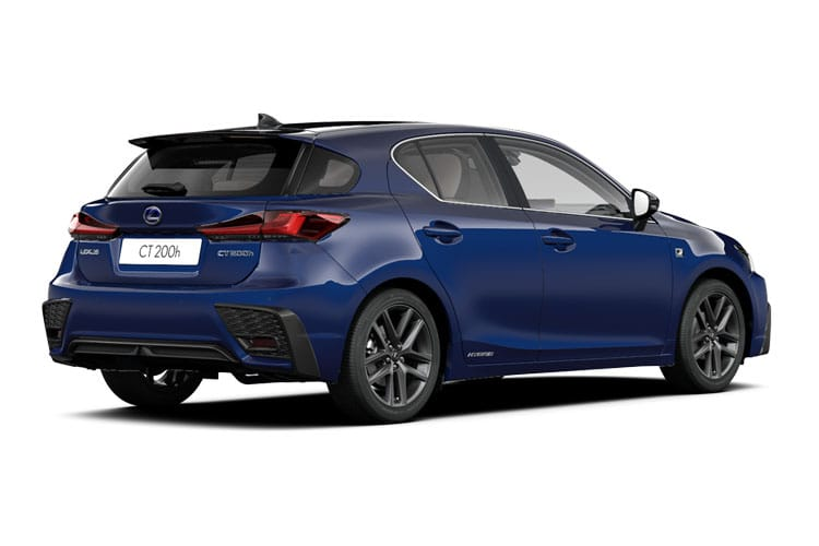 Lexus CT 200h Hatch 5Dr 1.8 h 136PS CT 5Dr E-CVT [Start Stop] [Premium Tech] back view