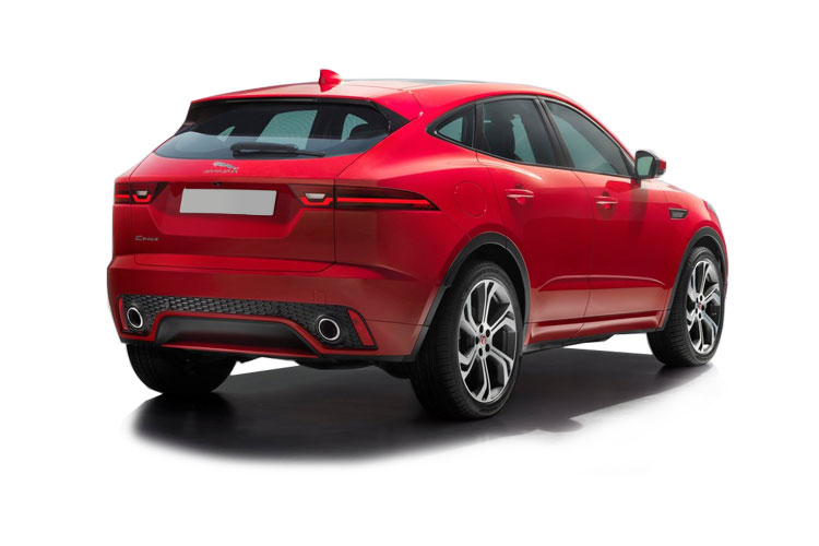 Jaguar E-PACE SUV AWD 2.0 d MHEV 163PS R-Dynamic S 5Dr Auto [Start Stop] back view