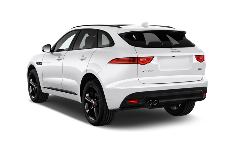 Jaguar F-PACE SUV AWD 2.0 P400e PHEV 17.1kWh 404PS HSE 5Dr Auto [Start Stop] back view