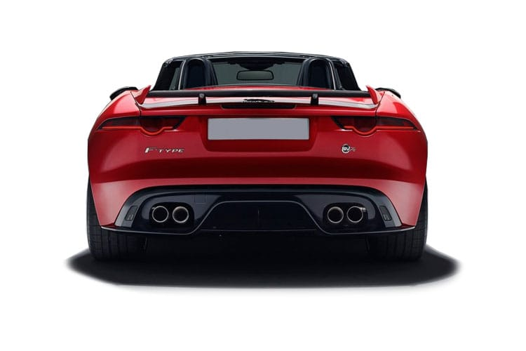Jaguar F-TYPE Convertible 5.0 V8 450PS R-Dynamic 2Dr Auto [Start Stop] back view