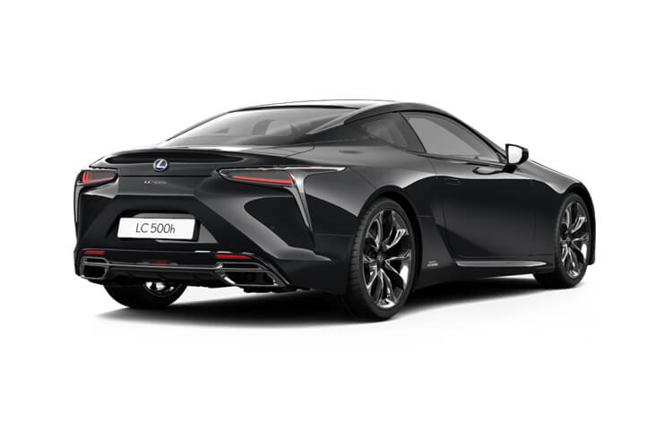 Lexus LC 500 Coupe 3.5 h V6 359PS  2Dr E-CVT [Start Stop] [HUD] back view