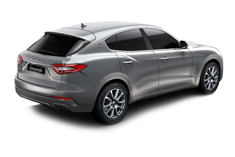 Maserati Levante SUV 4wd 3.0 V6 350PS GranSport 5Dr ZF [Start Stop] [Nerissimo] back view