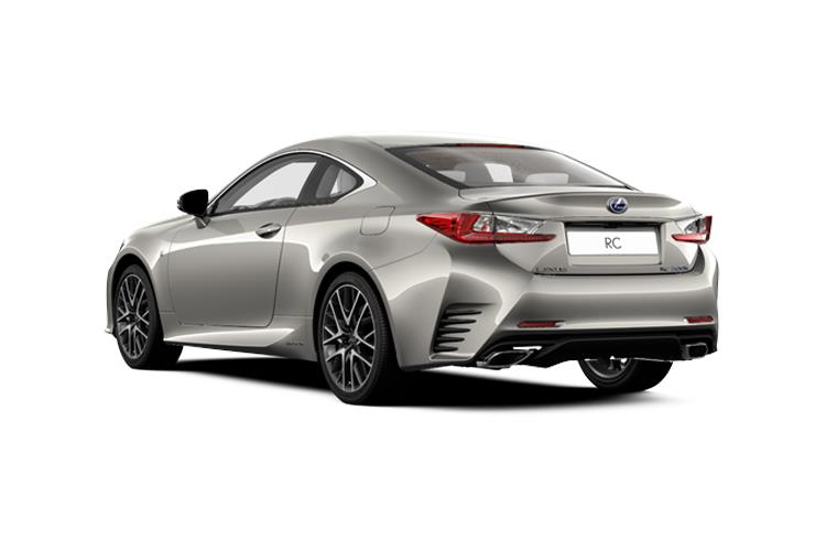 Lexus RC F Coupe 5.0 V8 463PS  2Dr Auto [Track SRoof] back view
