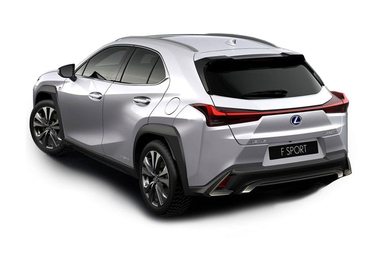 Lexus UX 250h SUV 2.0 h 184PS F-Sport 5Dr E-CVT [Start Stop] [Tech Safety SRoof] back view