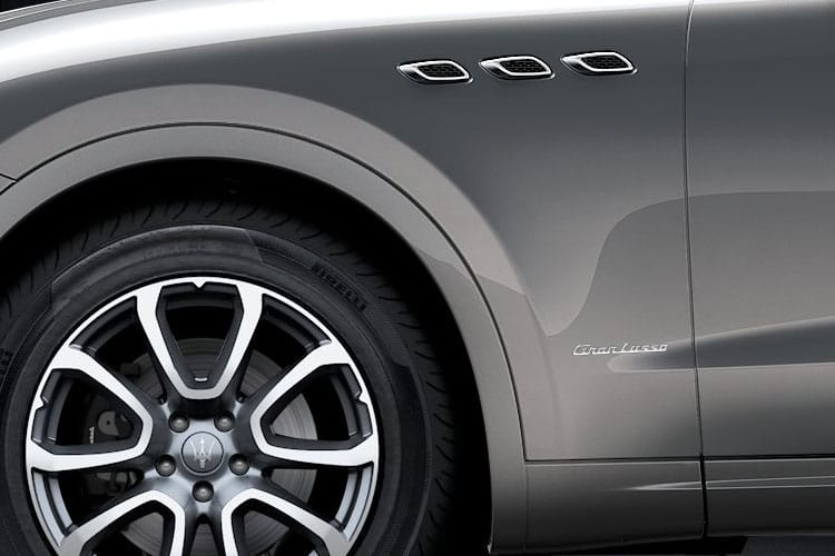 Maserati Levante SUV 4wd 3.0 V6 350PS GranSport 5Dr ZF [Start Stop] [Nerissimo] detail view