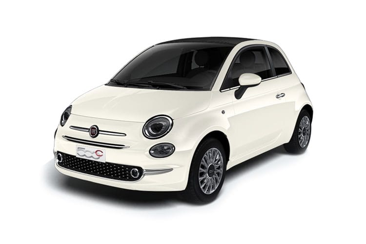 Fiat 500 C Convertible 1.0 MHEV 70PS Dolcevita Plus 2Dr Manual [Start Stop] front view