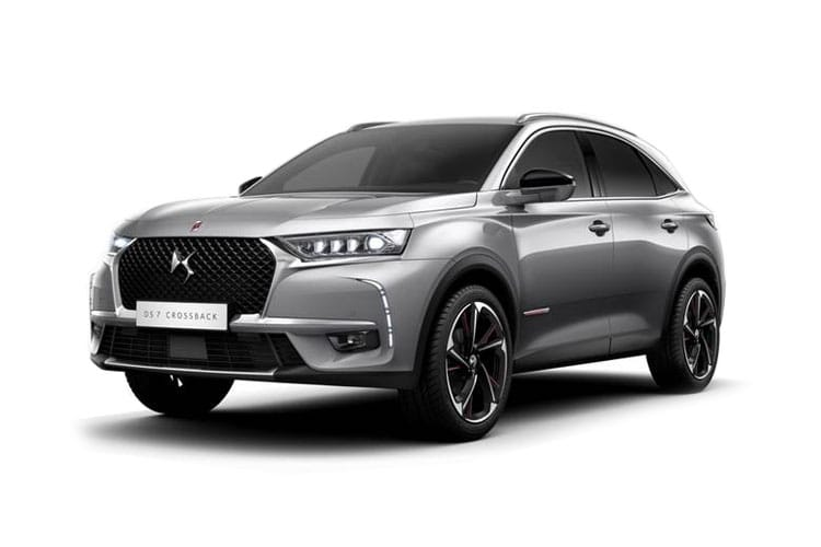 DS Automobiles DS 7 Crossback SUV 5Dr 1.2 PureTech 130PS Performance Line + 5Dr EAT8 [Start Stop] front view