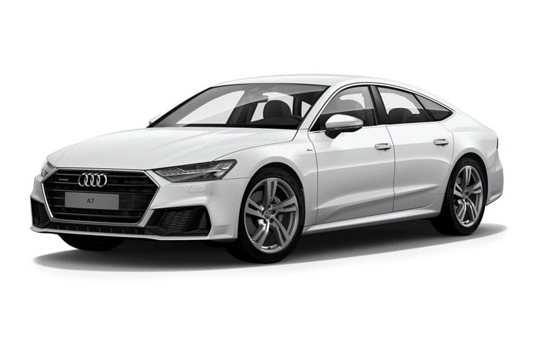 Audi A7 55 Sportback quattro 5Dr 3.0 TFSI V6 340PS Sport 5Dr S Tronic [Start Stop] front view