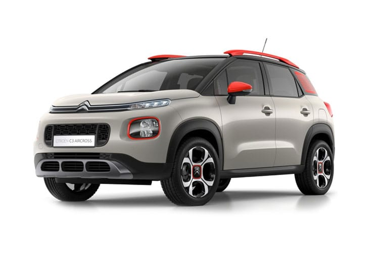 Citroen C3 Aircross SUV 1.2 PureTech 110PS C-Series 5Dr Manual [Start Stop] front view