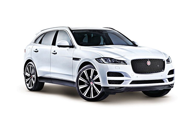 Jaguar F-PACE SUV AWD 2.0 d MHEV 204PS S 5Dr Auto [Start Stop] front view
