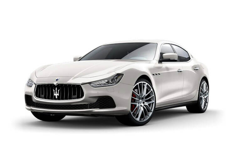Maserati Ghibli Saloon 3.0 V6 350PS GranSport 4Dr ZF [Start Stop] front view