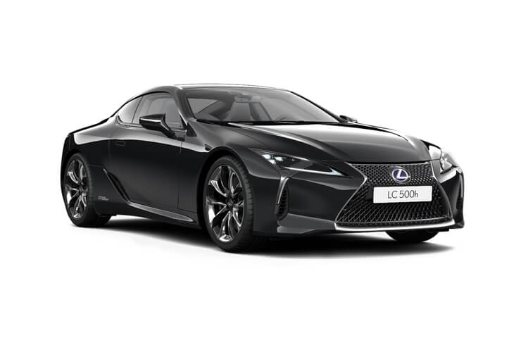 Lexus LC 500 Coupe 3.5 h V6 359PS Sport 2Dr E-CVT [Start Stop] [HUD] front view