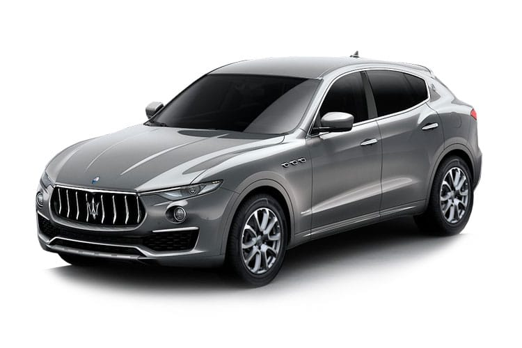 Maserati Levante SUV 4wd 3.0 V6 350PS GranSport 5Dr ZF [Start Stop] [Nerissimo] front view