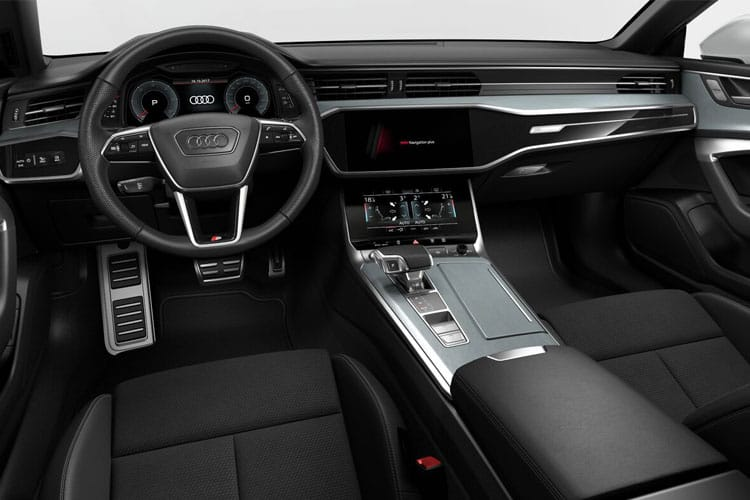 Audi A7 55 Sportback quattro 5Dr 3.0 TFSI V6 340PS Black Edition 5Dr S Tronic [Start Stop] inside view