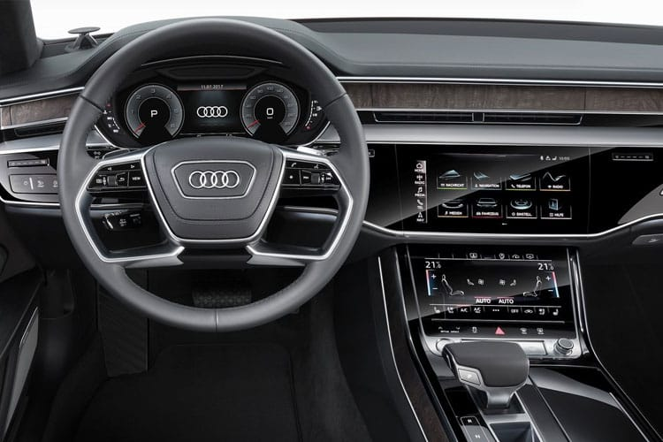 Audi A8 50 Saloon quattro 4Dr 3.0 TDI V6 286PS Black Edition 4Dr Tiptronic [Start Stop] [Comfort Sound] inside view