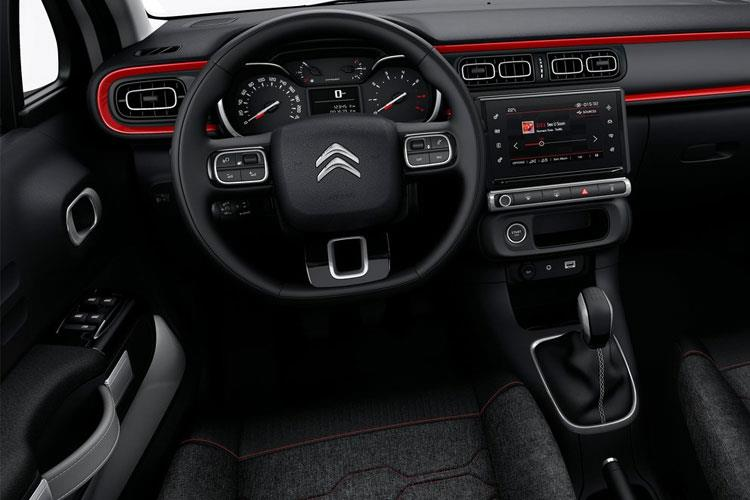 Citroen C3 Hatch 5Dr 1.5 BlueHDi 100PS Flair Plus 5Dr Manual [Start Stop] inside view