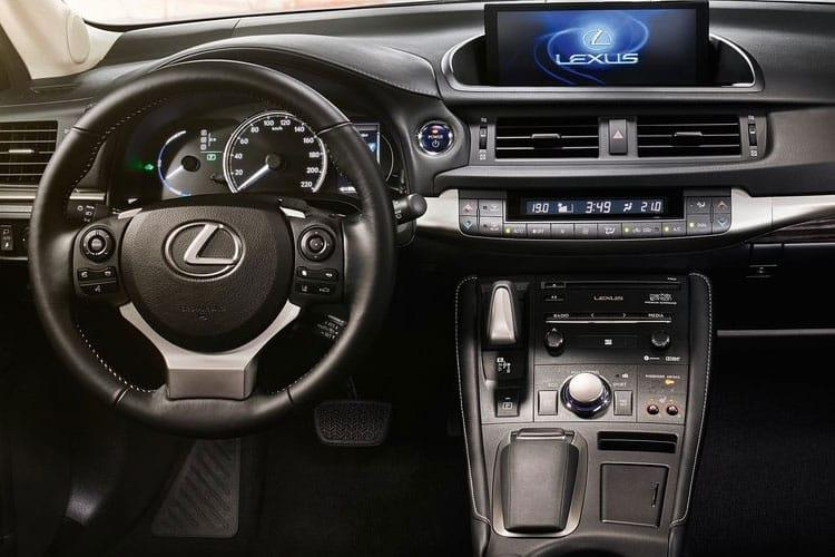 Lexus CT 200h Hatch 5Dr 1.8 h 136PS CT 5Dr E-CVT [Start Stop] [Premium Tech] inside view