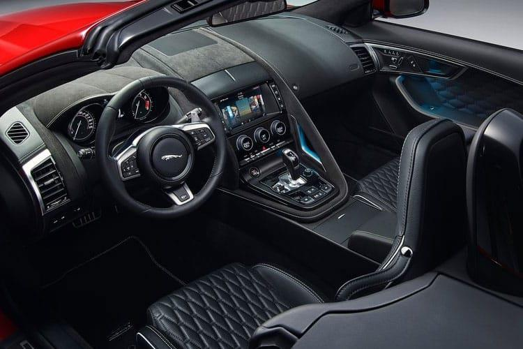 Jaguar F-TYPE Convertible 5.0 V8 450PS R-Dynamic 2Dr Auto [Start Stop] inside view