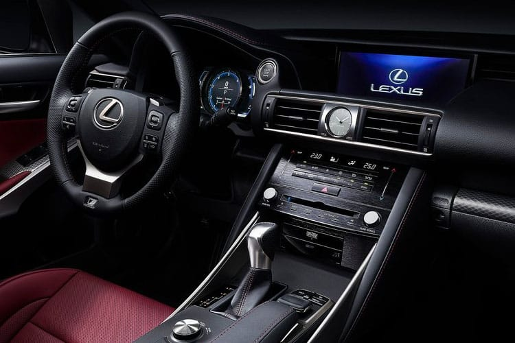 Lexus IS 300 Saloon 2.5 h 223PS IS 4Dr E-CVT [Start Stop] [Comfort] inside view