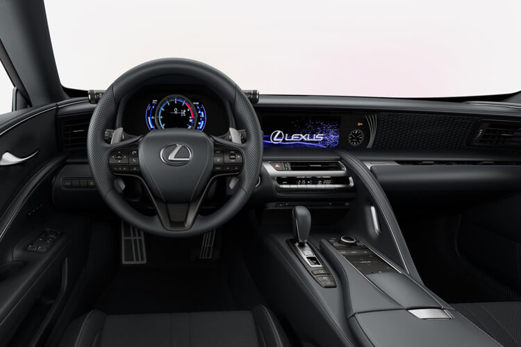 Lexus LC 500 Coupe 3.5 h V6 359PS Sport 2Dr E-CVT [Start Stop] [HUD] inside view