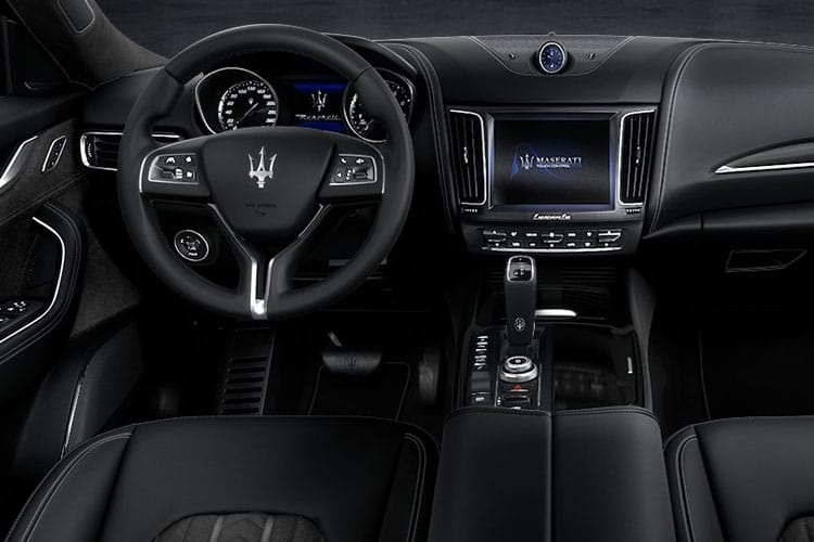 Maserati Levante SUV 4wd 3.0 V6 350PS GranSport 5Dr ZF [Start Stop] [Nerissimo] inside view