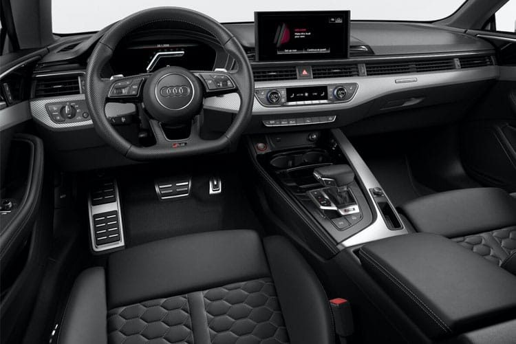 Audi A5 RS5 Coupe quattro 2Dr 2.9 TFSI V6 450PS Carbon Black 2Dr Tiptronic [Start Stop] [Comfort Sound] inside view