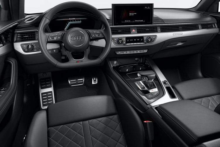 Audi A4 30 Saloon 4Dr 2.0 TDI 136PS Black Edition 4Dr S Tronic [Start Stop] inside view
