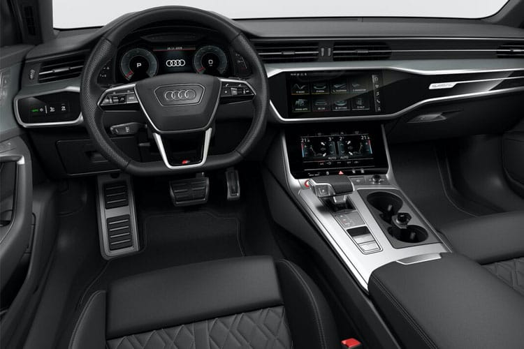 Audi A6 40 Saloon quattro 2.0 TDI 204PS Sport 4Dr S Tronic [Start Stop] [Technology] inside view